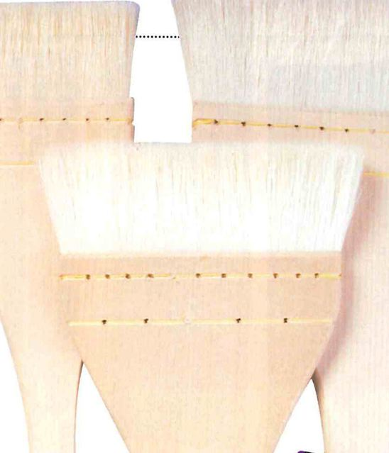 NAM goat brushes