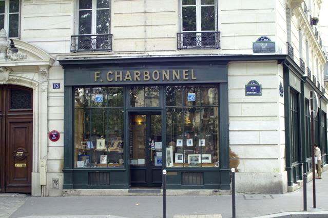 The Charbonnel store in Paris