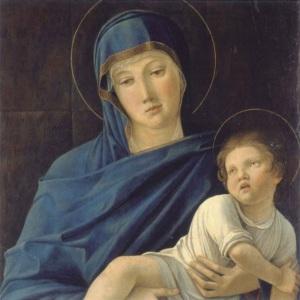 G Bellini Madonna & Child bergamo