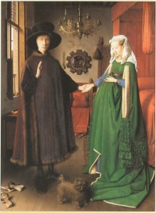 van eyck couple arnolfini