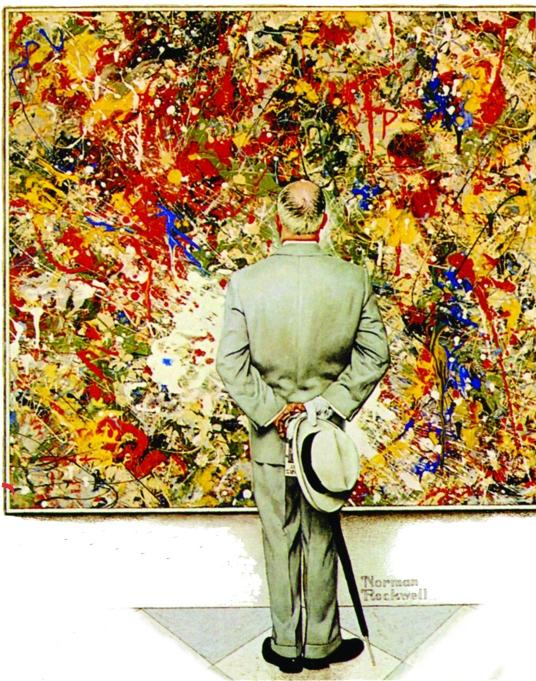 Norman Rockwell acrylics Pollock.jpg