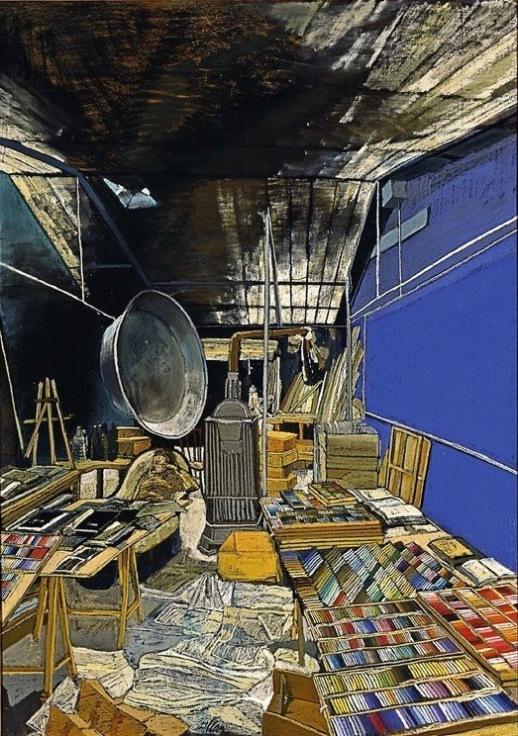 L'atelier de la rue de Crussol by Sam Szafran