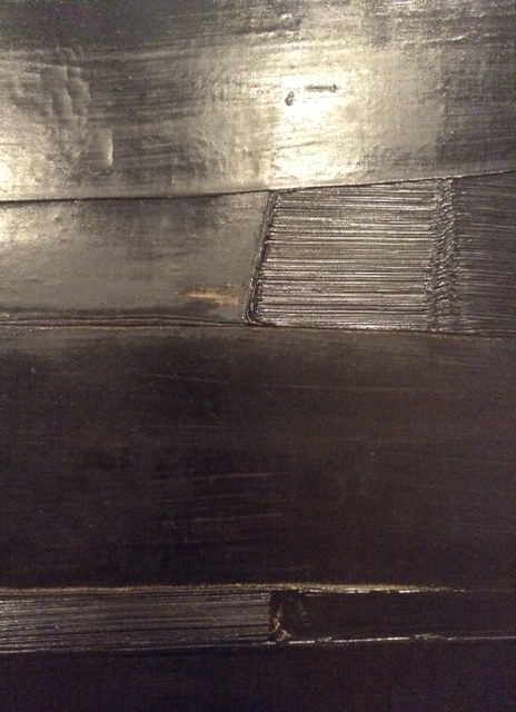 Soulages at the National Gallery Canberra
